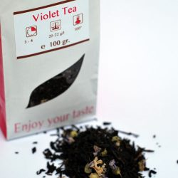 Violet Tea - zwarte thee infusie - losse thee - 100gr