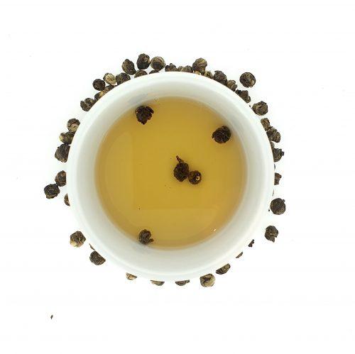 Dragon Jasmin Pearls - groene thee infusie - losse thee - 75gr