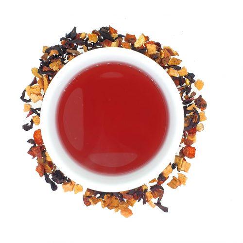 Haardvuur - vruchtenthee - losse thee - 100gr