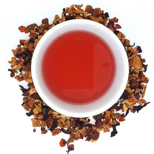 Zoete duindoorn - vruchtenthee - losse thee - 100gr