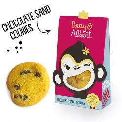 CHOCOLATE SAND COOKIES 100gr Betty & Albert
