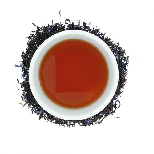 Lady Blue - zwarte thee infusie - losse thee - 100gr