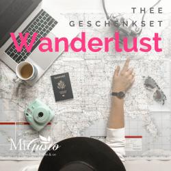 Wanderlust - thee geschenkset
