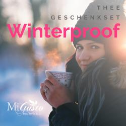 Winterproof - thee geschenkset
